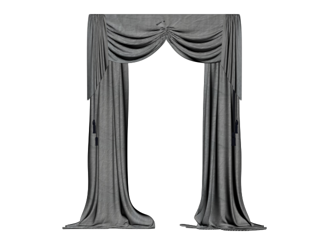 Curtains clipart drapery. Black curtain png the