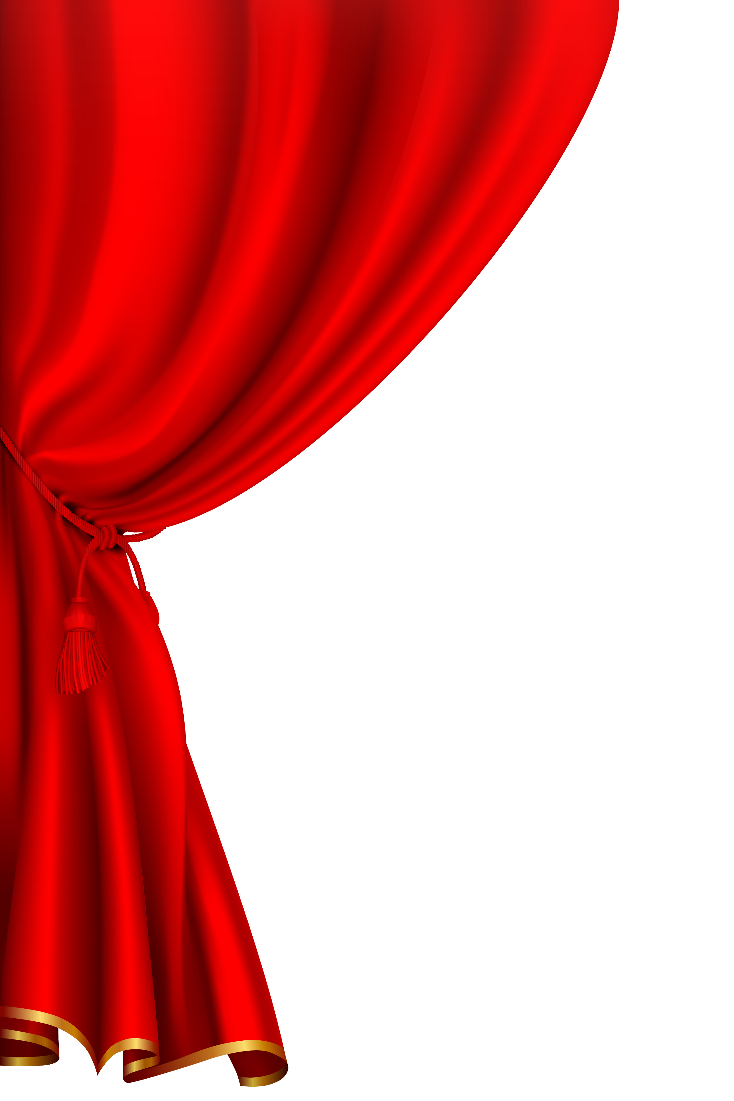 Png . Curtains clipart press button