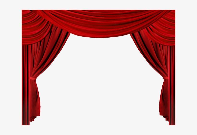 Curtains clipart press button. Curtain stage clip art