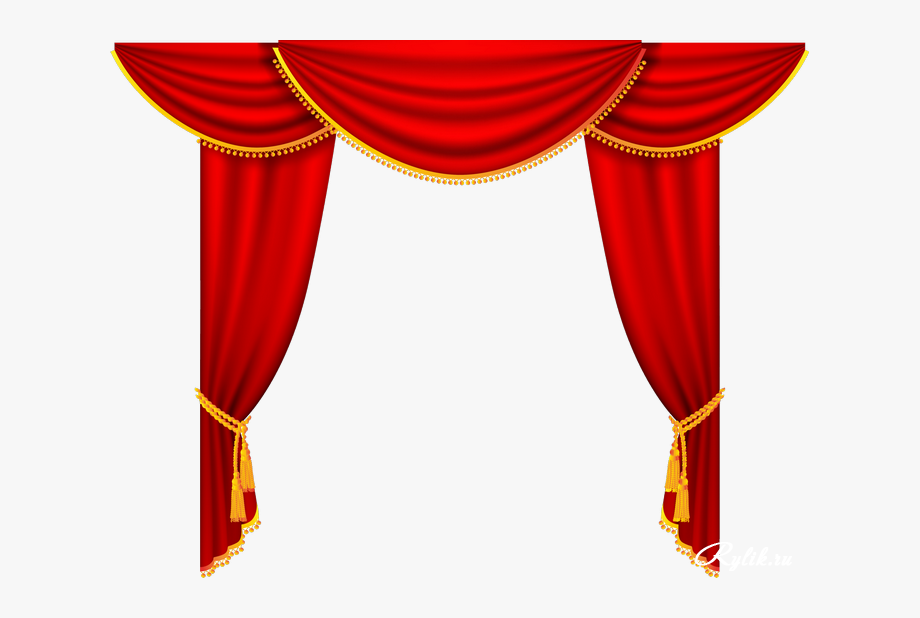 Curtains clipart curtain design. Press button transparent background