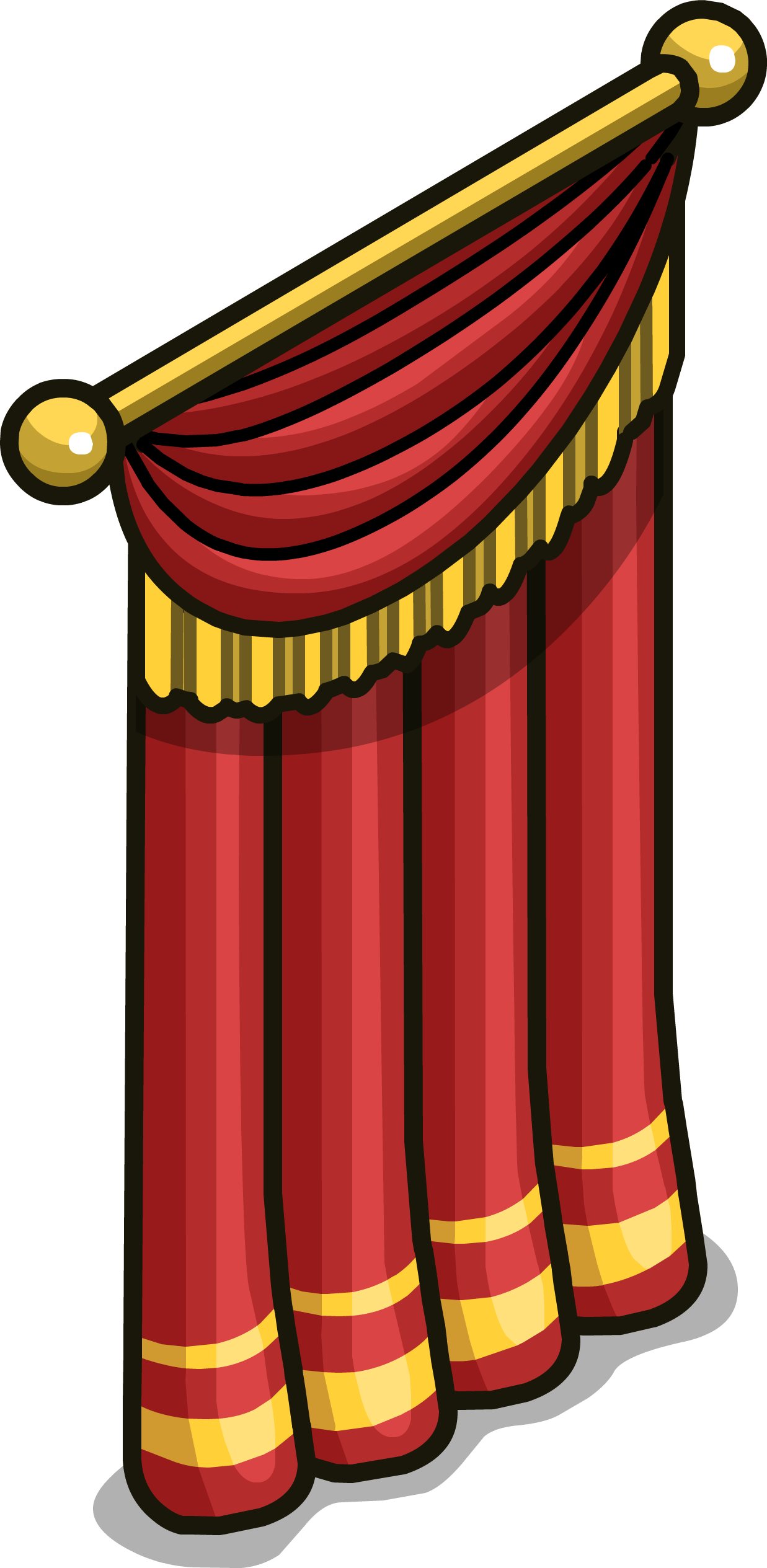 Image stage sprite png. Win clipart curtain clipart