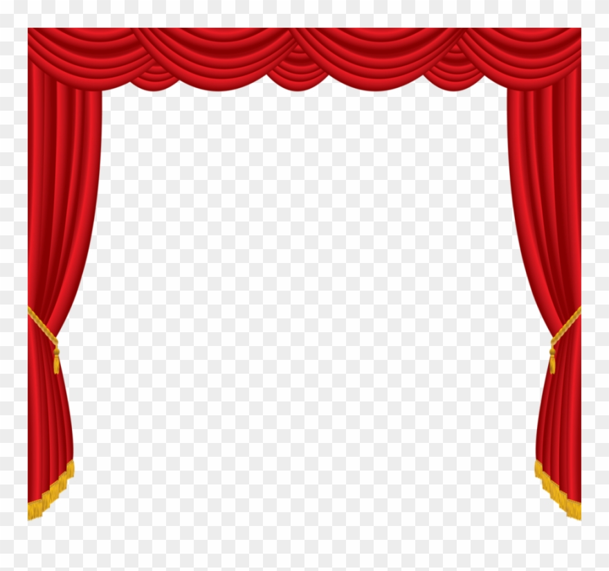 Clip art curtain for. Curtains clipart puppet theater