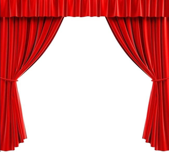 Curtains Clipart Pink Curtain, Curtains Pink Curtain
