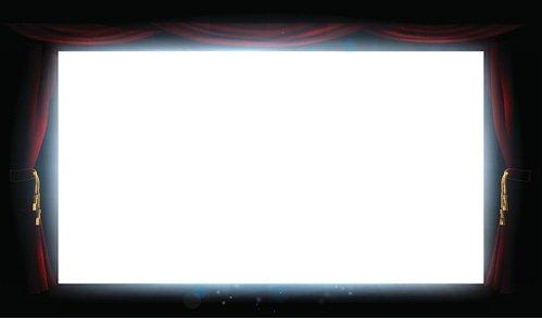 Curtain clipart screen. Cinema and curtains premium