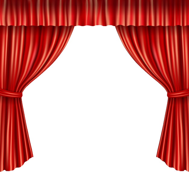 Pin by next on. Curtains clipart theatre