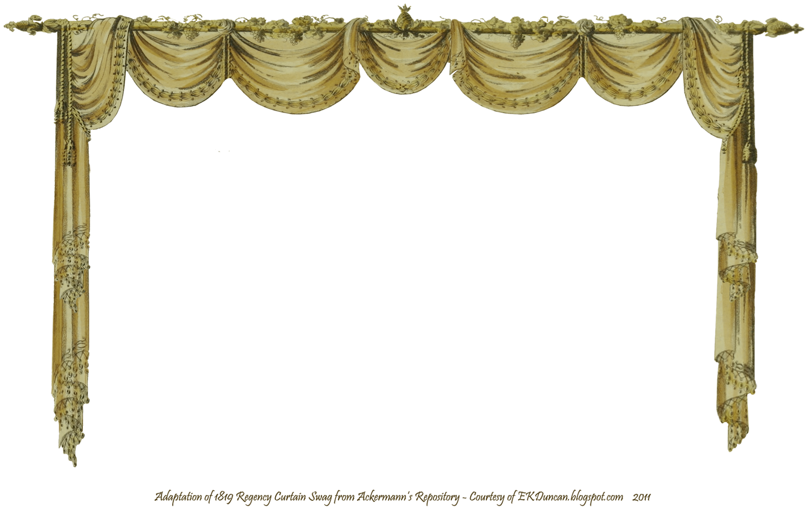 Gold png stage. Curtains clipart wedding curtain