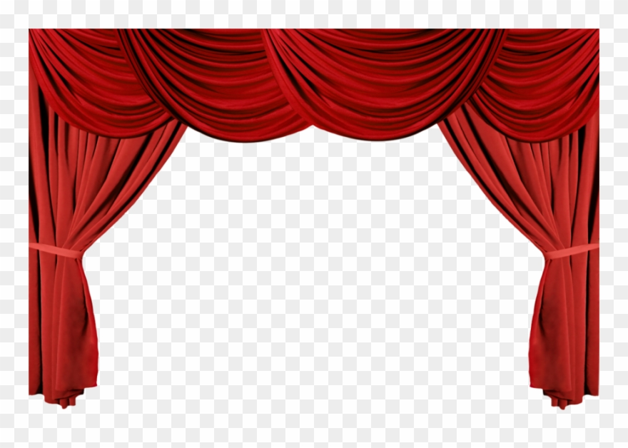 Download stage theater drapes. Curtains clipart real
