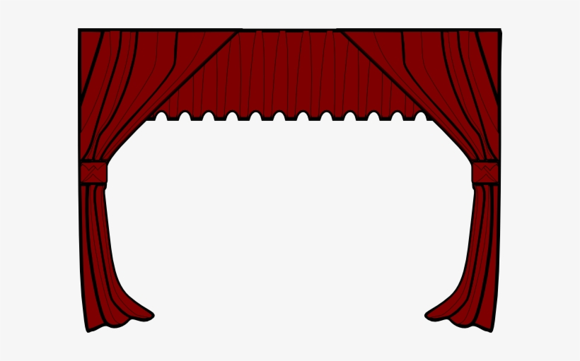 Curtains clipart svg. Curtain transparent png x