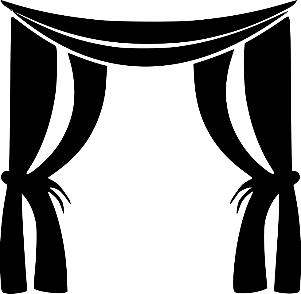 Curtain free on dumielauxepices. Curtains clipart svg