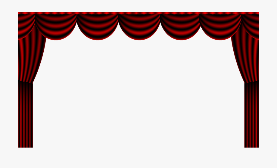 Curtains clipart theater director. Watheatrearts red curtain theatre