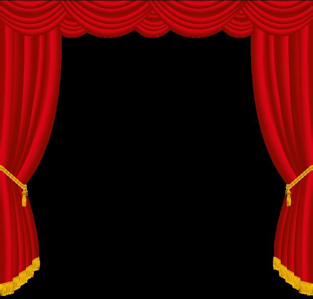 Curtains Clipart Unveiling Curtains Unveiling Transparent