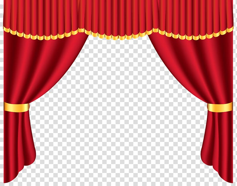 Red and theater template. Curtains clipart yellow curtain