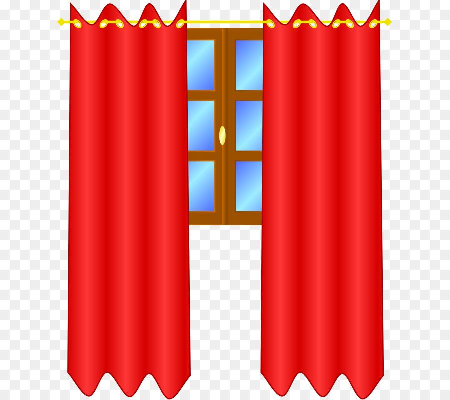 Window treatment curtain clip. Curtains clipart