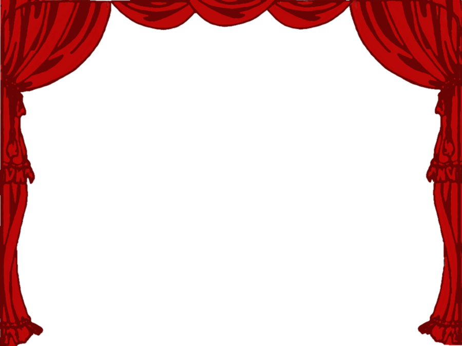 Theatre stage curtain . Curtains clipart