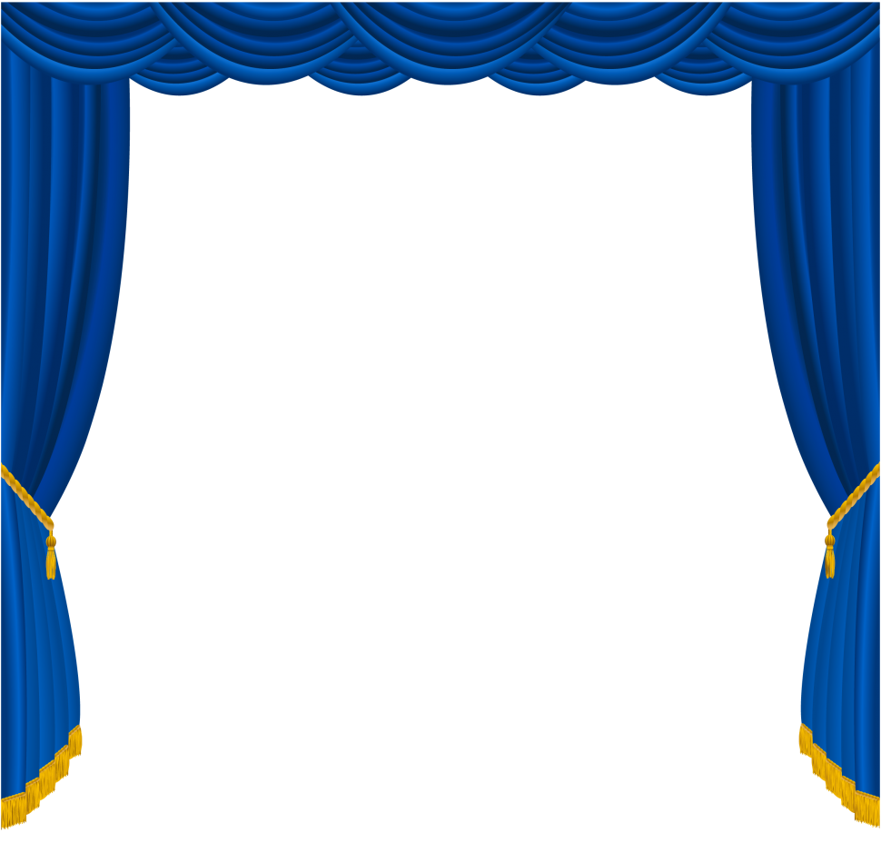 Stirring blue pictures design. Curtains clipart bedroom curtain
