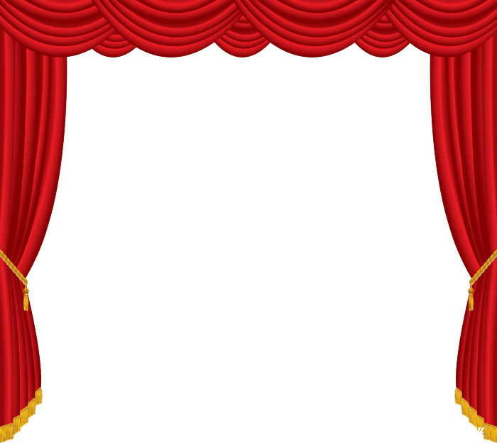Green curtain png spojivach. Curtains clipart bus