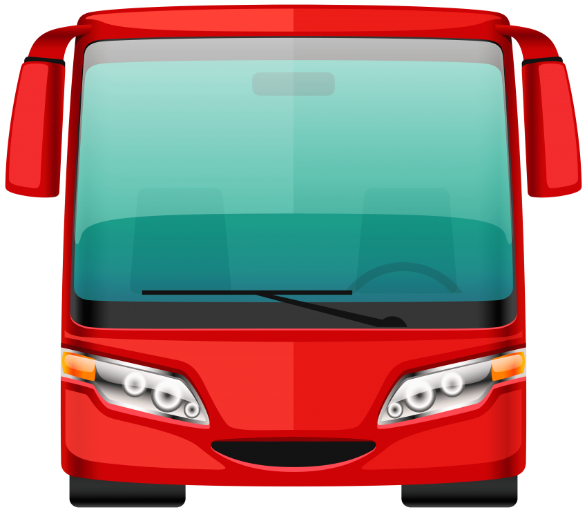 Red png free images. Curtains clipart bus