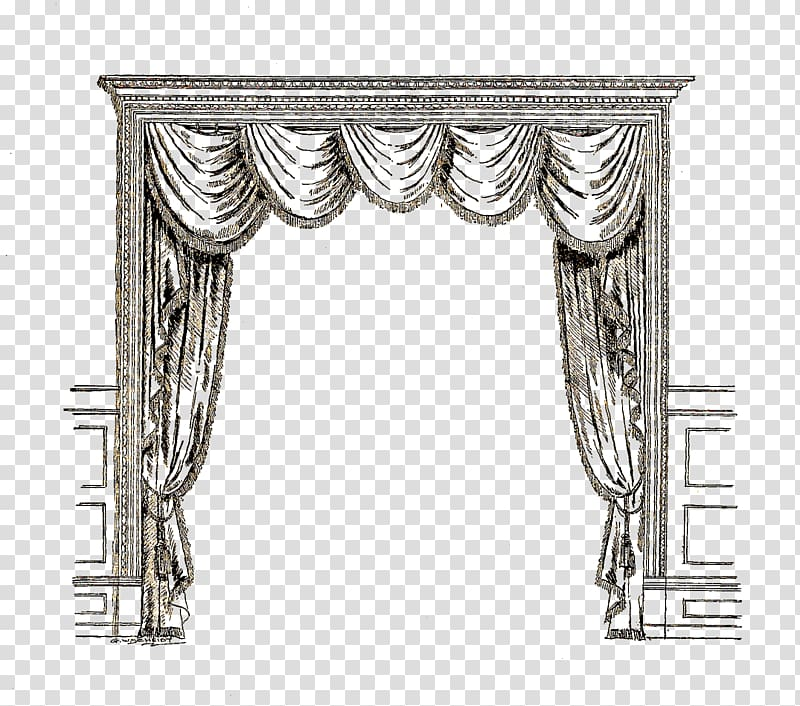 Curtains clipart door. Dab template open with