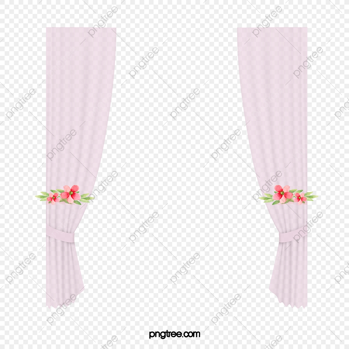 Curtains clipart flower. Purple wedding curtain png