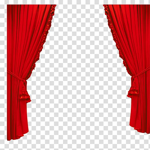 Red curtain illustration theater. Curtains clipart gold light