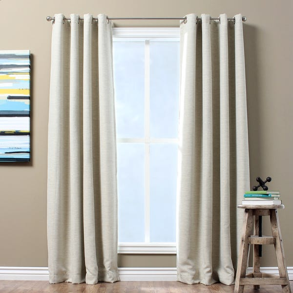 Curtains clipart morning window. Shop solid textured insulated