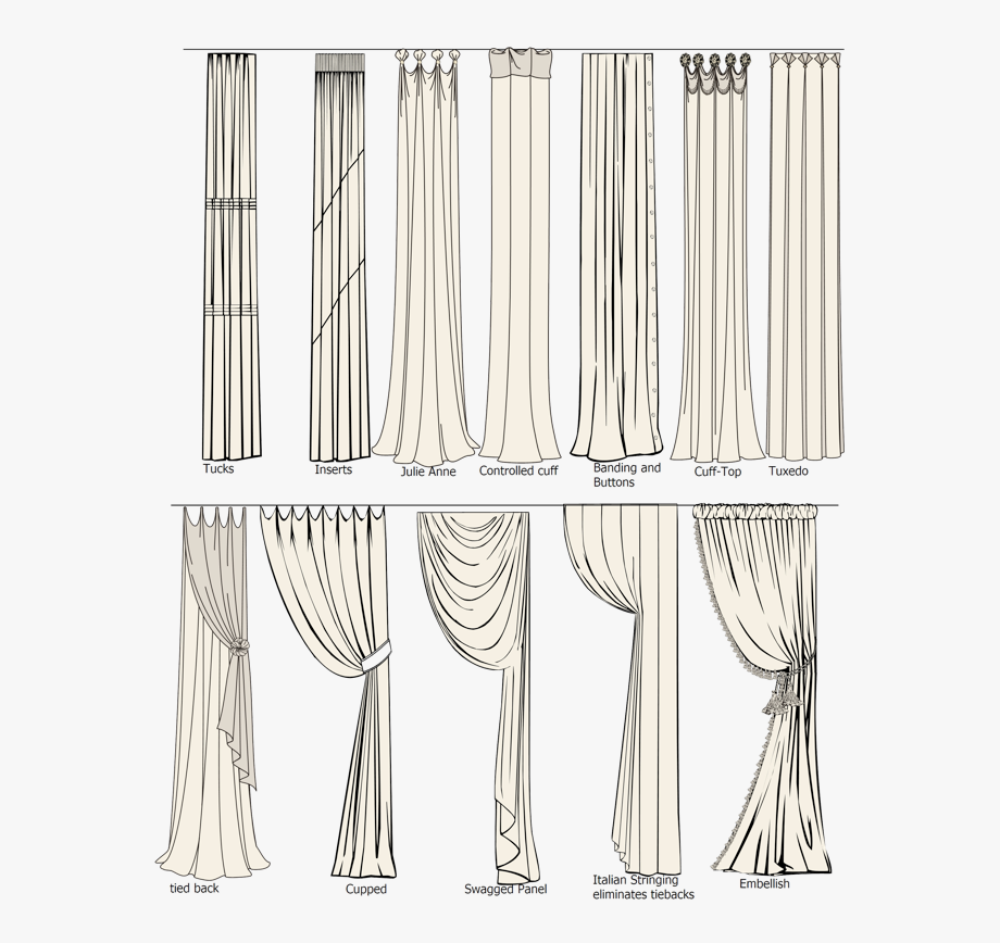 Drawing blind with . Curtains clipart morning window