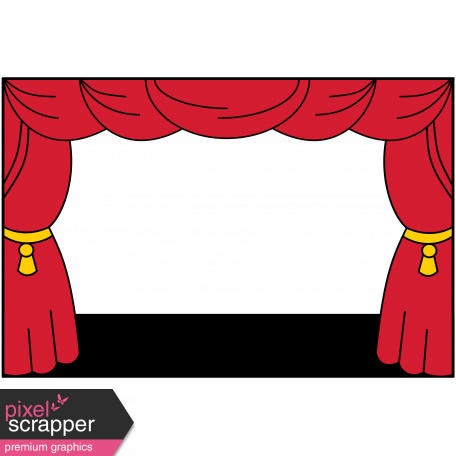 School frame graphic by. Curtains clipart pixel art