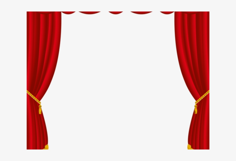 Curtains clipart puppet theater. Curtain stage cortina circo