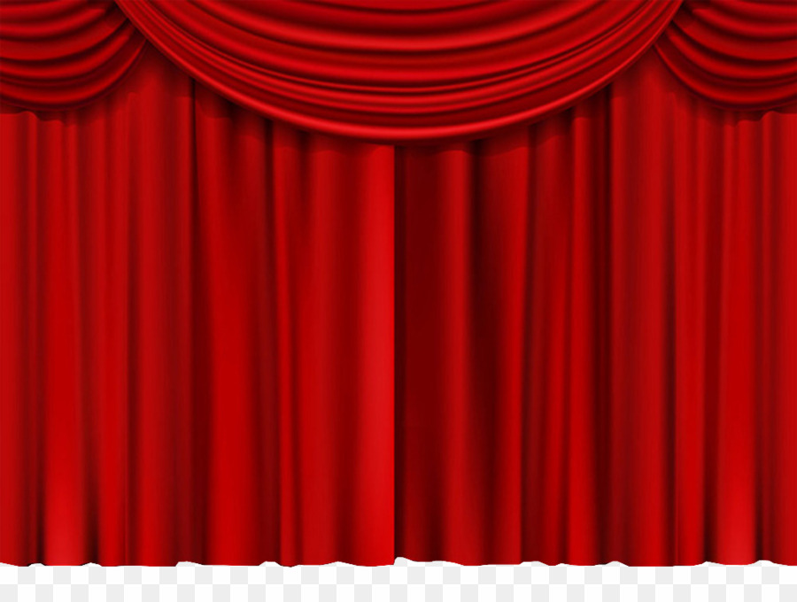 Curtains clipart real. Theatre red png theater