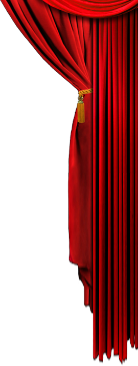 Curtains clipart side. Png images free download