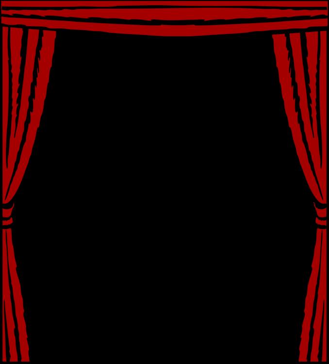 Picture frame decor text. Curtains clipart svg