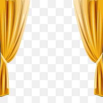 Curtains clipart yellow curtain. Png vector psd and