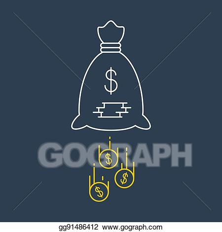 Finance clipart financial security. Vector art business expenses