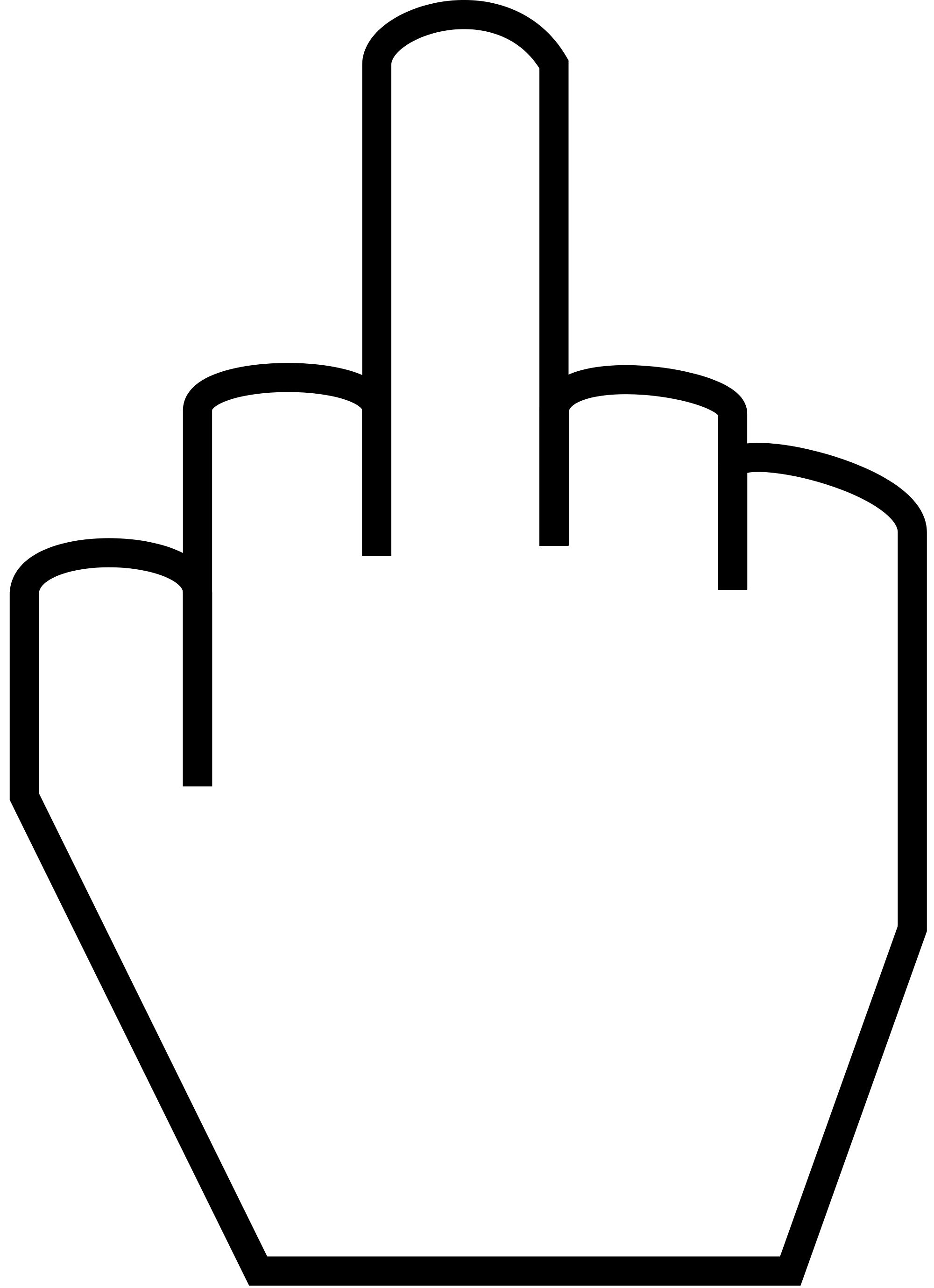 Fingers clipart czar. File the middle finger