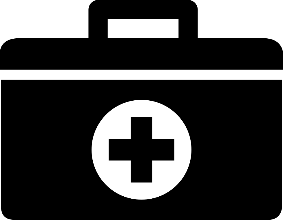 Doctor clipart briefcase. First aid kit bag