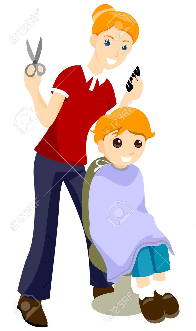 hair cut clip. Haircut clipart own