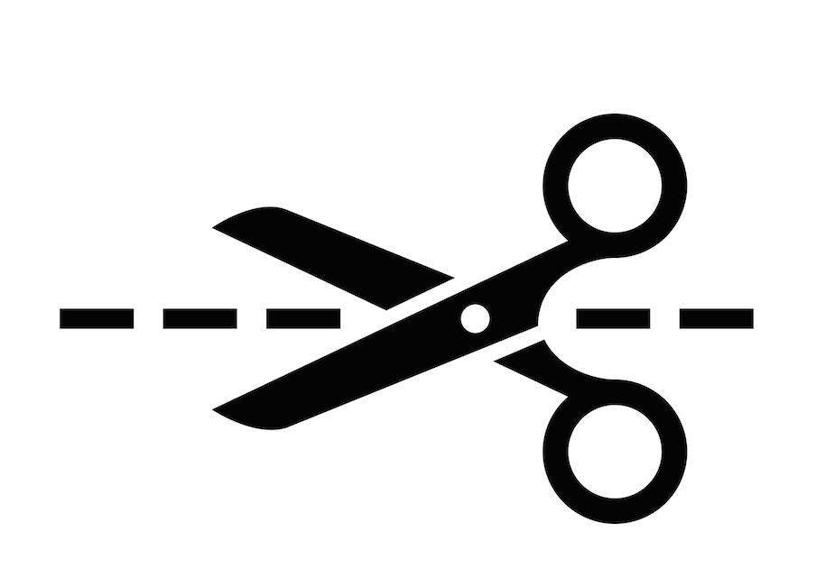 Schere Symbol