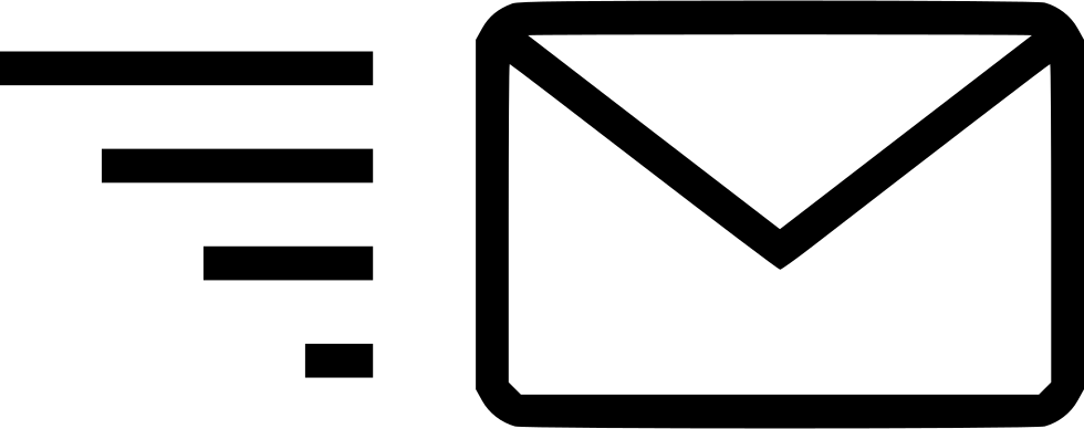 Email send message fast. Mail clipart mail icon