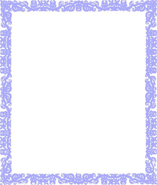 Blue design clip art. Cute border png