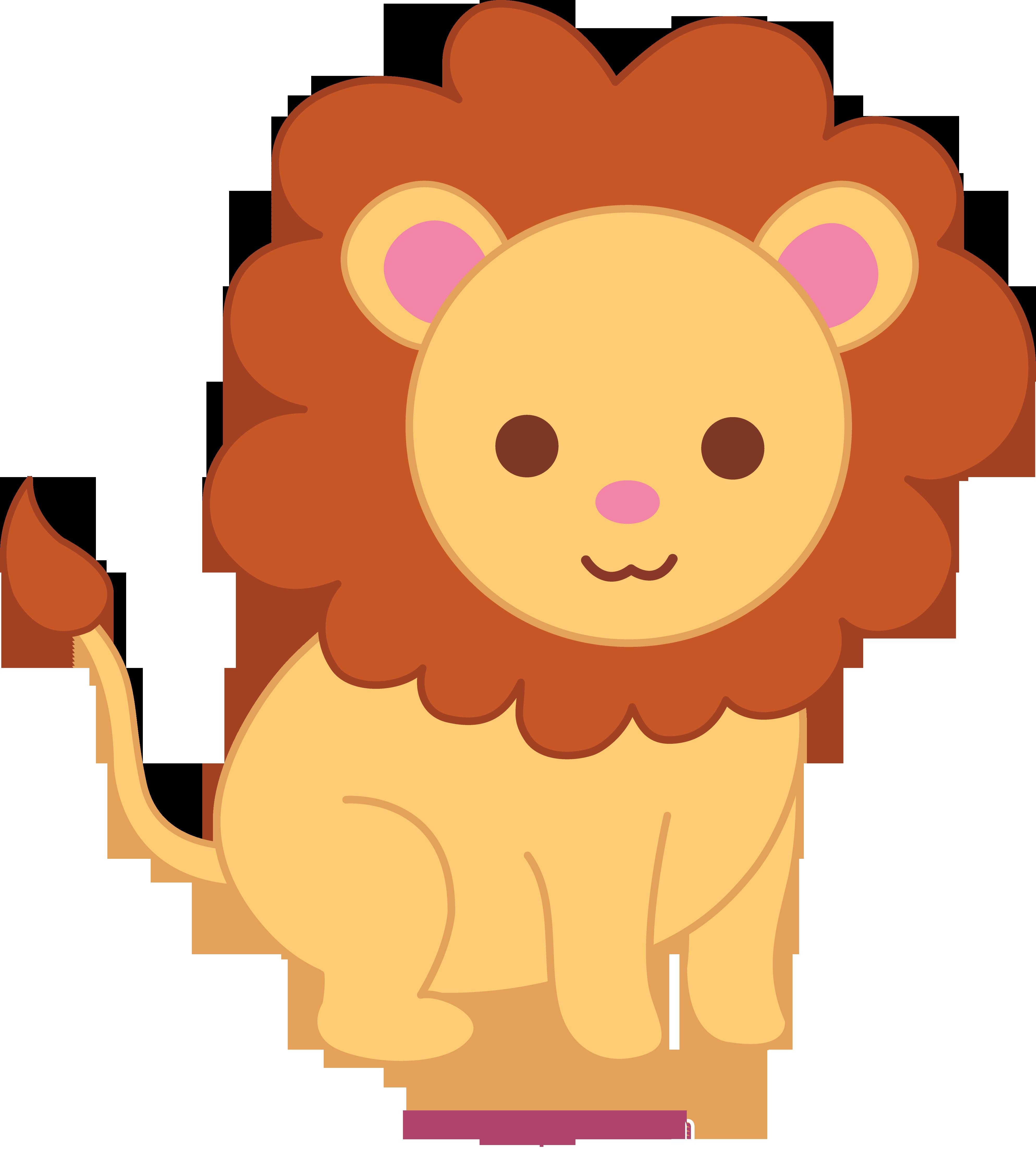 Cute clipart. Lion clip art sweet
