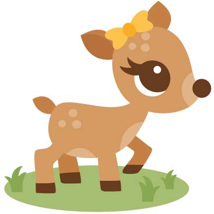 Station . Deer clipart cute