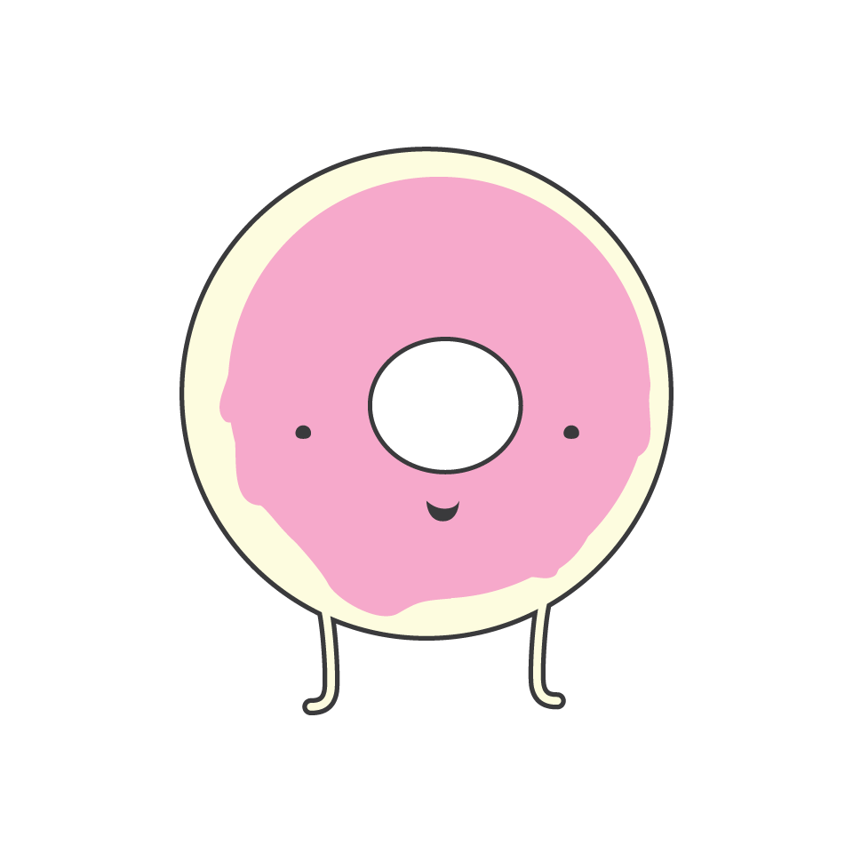 Donut clipart pink donut. Glaze and home page