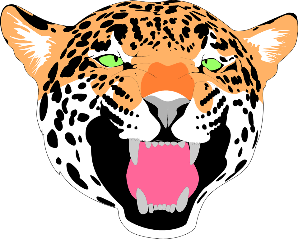 Female clipart jaguar.  collection of cute