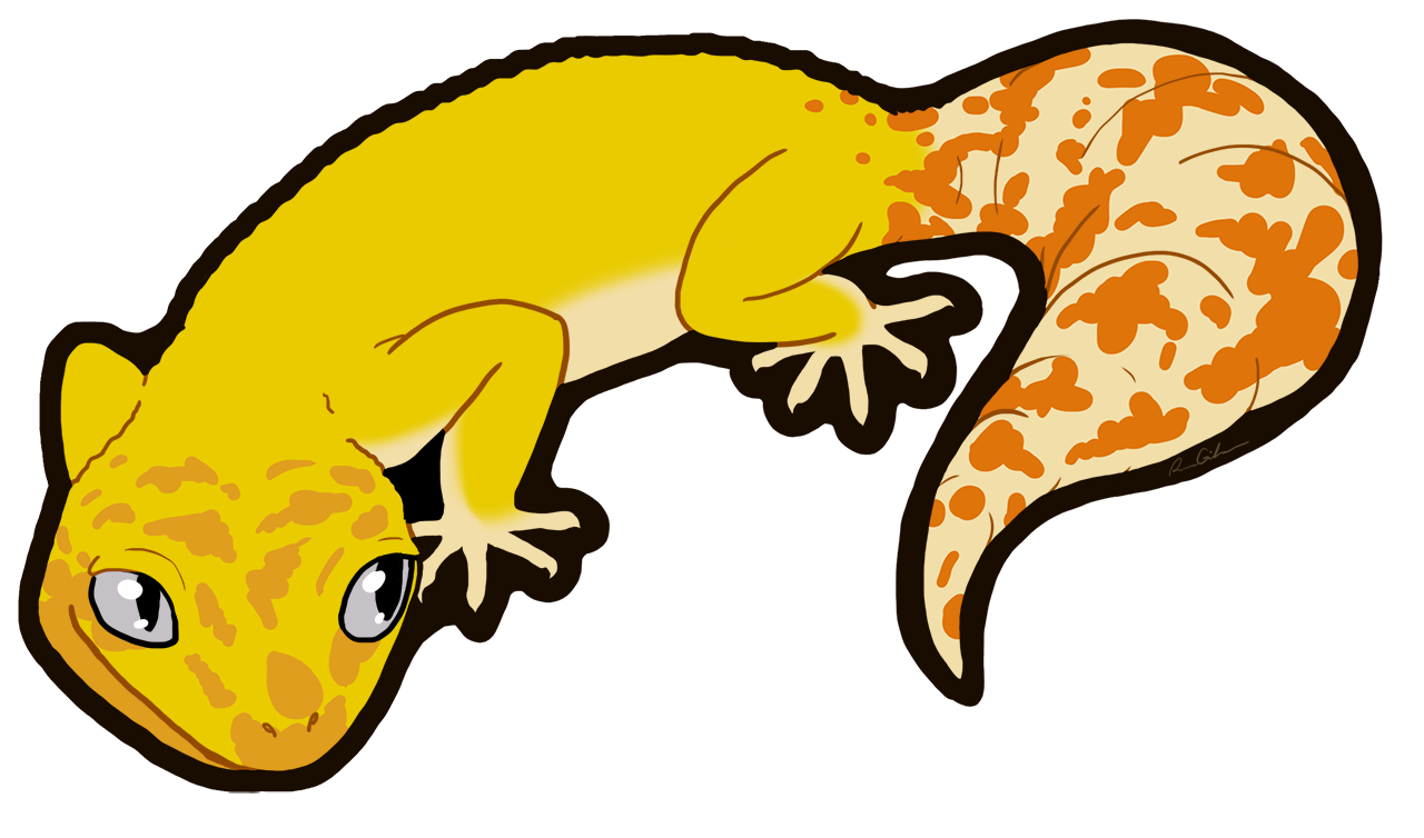 Gecko clipart face.  collection of leopard