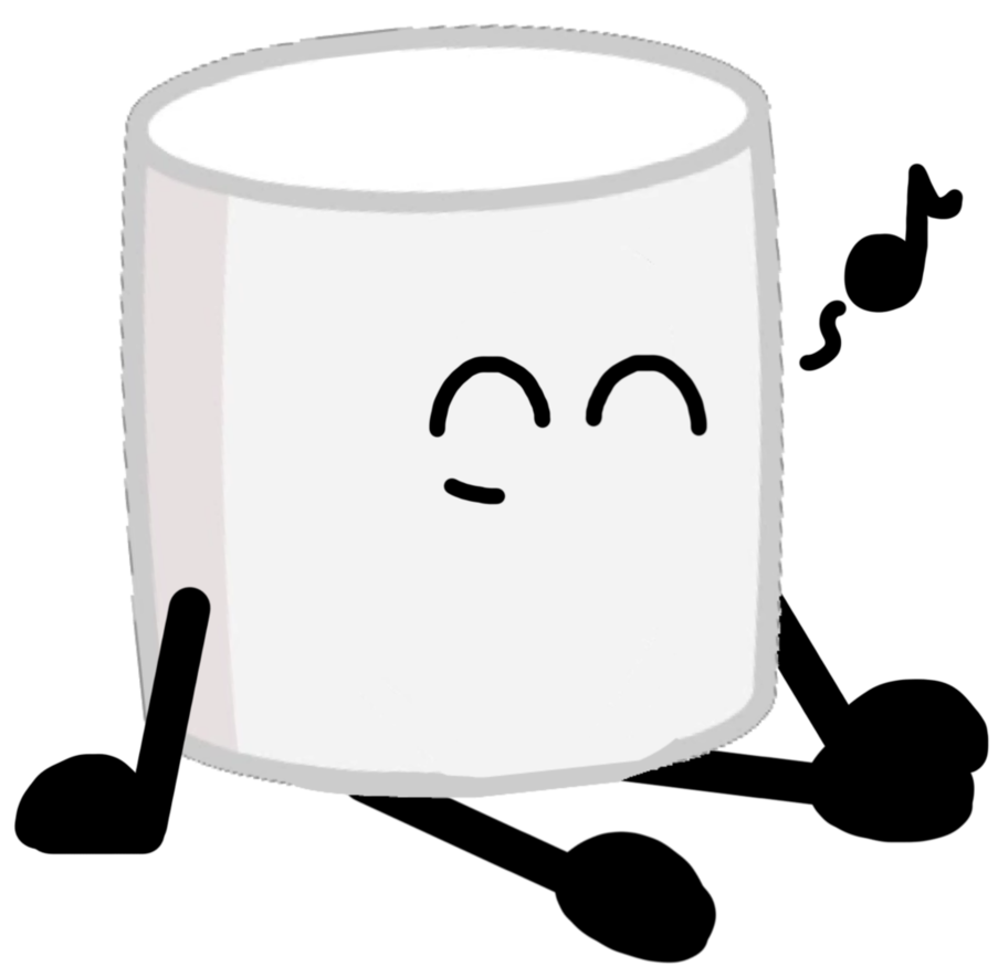 Marshmallow clipart toasted marshmallow. This humming little by