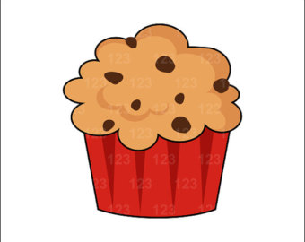 clipartlook. Muffin clipart cute