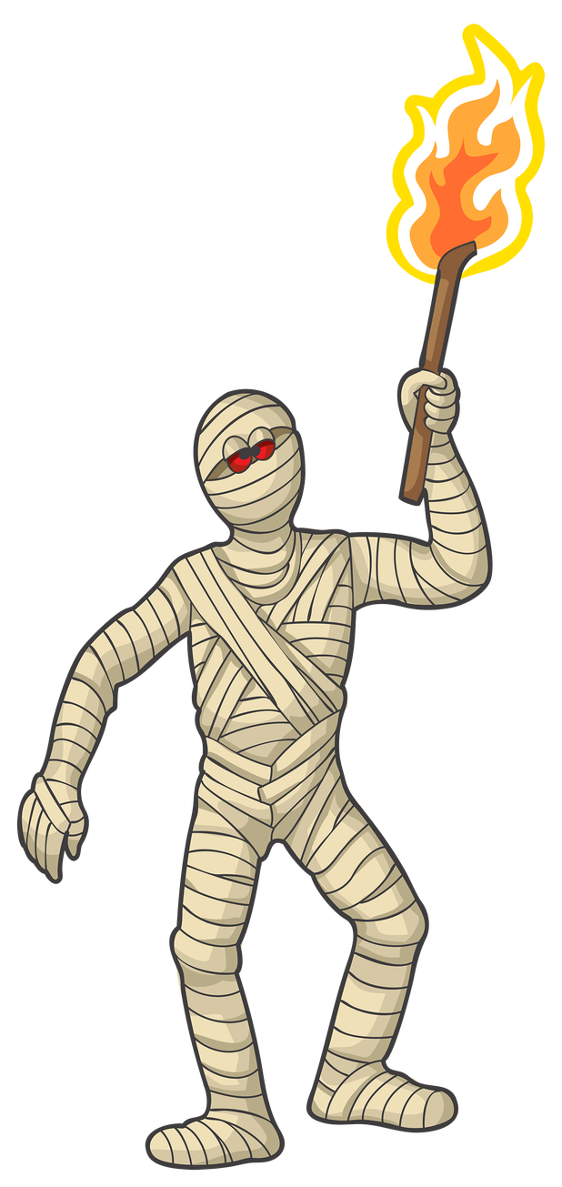 Mummy clipart clip art. Halloween images cartoonview co