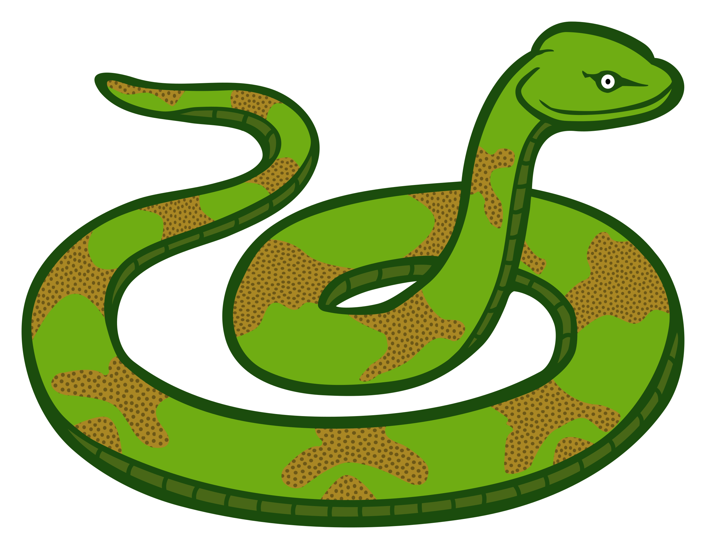 Snake clipart poison. Scary at getdrawings com