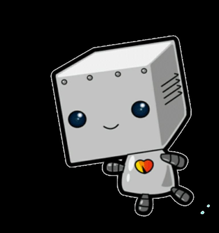 Voy a robots tumblr. Robot clipart grey