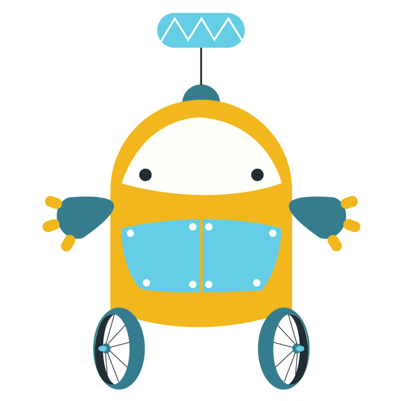 Hubpicture pin . Cute clipart robot